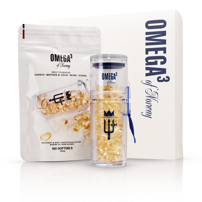 Omega<sup>3</sup> Of Norway<br>Gift Pack <i>(300caps)</i>