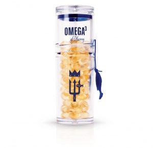 Omega3 Norway Bottle white