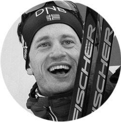 Norwegian Olympic athlete and Norway Omega ambassador Tarjei Boe