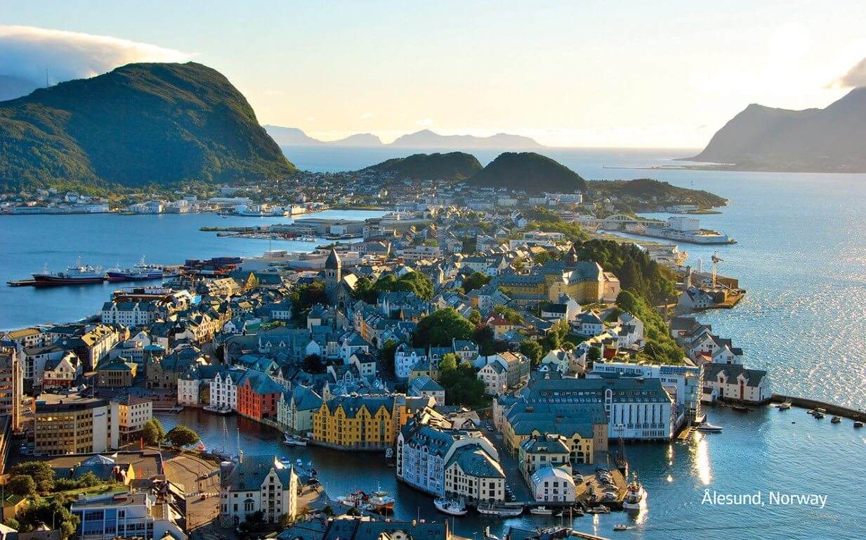 Ålesund Norway, home of our omega 3 production